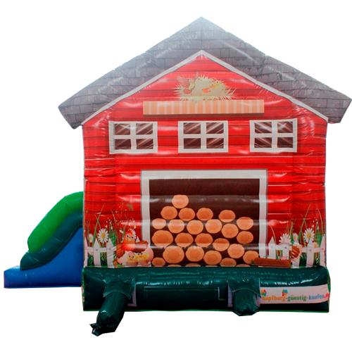 Holzhäuschen Hüpfburg kaufen